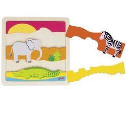 Puzzle Afryka - Goki