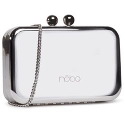 Torebka NOBO - NBAG-J4400-C022 Srebrny