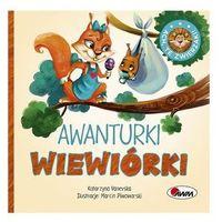 Książki dla dzieci, Ach te zwierzaki Awanturki wiewiórki (opr. twarda)