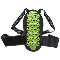 Motocyklowe ochraniacze kręgosłupa, Ochraniacz kręgosłupa dla dzieci W-TEC NF-3540 Junior, Zielony, XL