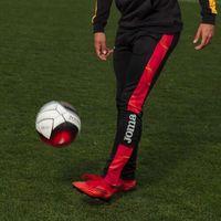 Pozostała odzież sportowa, Spodnie treningowe Joma Street II Czarno Czerwone 101865.106