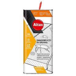 Altax Preparat owadobójczy do drewna bezbarwny 5 l