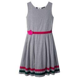 Sukienka na uroczyste okazje bonprix czarno-biały