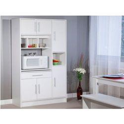 Bufet kuchenny MADY - 5 drzwi, 1 szuflada - Kolor biały