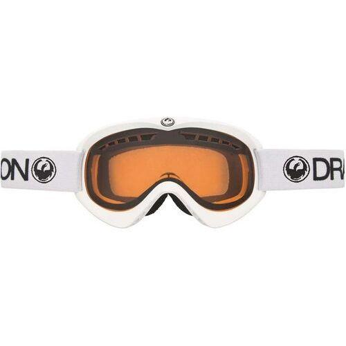 Kaski i gogle, gogle DRAGON - Dx Powder Amber Wht (WHT) rozmiar: OS