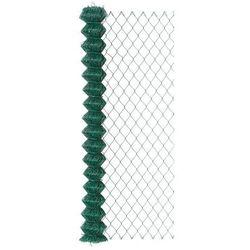 Siatka ogrodzeniowa pleciona 1.75 x 10 m zielona SOC PVC ARCELOR MITTAL