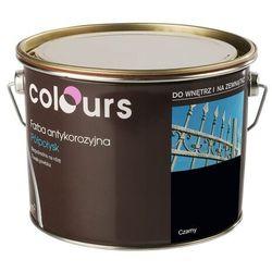 Farba antykorozyjna Colours czarna 2,5 l