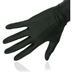 RNITRIO Rękawice BLACK nitrylowe - CZARNE M 100szt