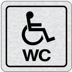 Tabliczka na drzwi -WC dla niepełnosprawnych