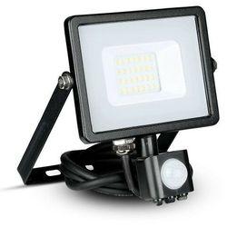 Naświetlacz 20W 6400K V-TAC SAMSUNG LED z czujnikiem VT-20-S