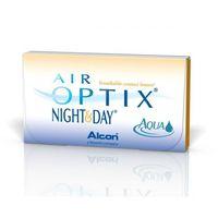 Soczewki kontaktowe, Air Optix Night&Day Aqua - 3 sztuki Wybrane Moce (BC:8,4)