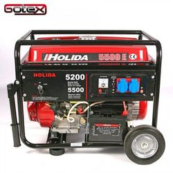Agregat prądotwórczy, generator HOLIDA 5500E jedna faza 5,5 kW rozrusznik elektryczny