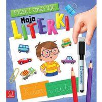 Literatura młodzieżowa, Piszę i zmazuję Moje literki - opracowanie zbiorowe - książka (opr. broszurowa)