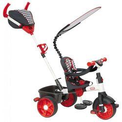 Little Tikes Trójkołowy rowerek 4w1 SPORT biało/czerwony