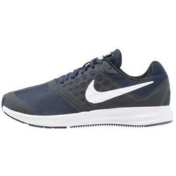 Nike Performance DOWNSHIFTER 7 Obuwie do biegania treningowe navy/white/dark obsidian/black