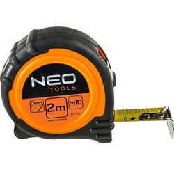 Miara zwijana NEO 67-112 stalowa z magnesem 16 mm (2 m)