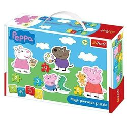 Puzzle Baby Classic - Świnka Peppa TREFL