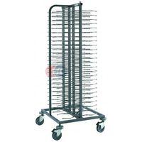 Wózki na żywność, Wózek transportowy jodełkowy do talerzy CPP-100