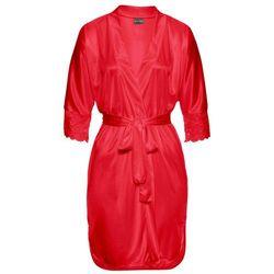 Szlafrok kimono bonprix czerwony