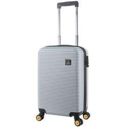 National Geographic Abroad S mała walizka kabinowa 20/54 cm / srebrna - srebrny
