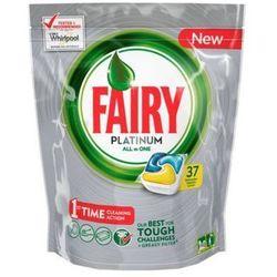 FAIRY 37szt Platinum All in One Lemon Tabletki do zmywarki