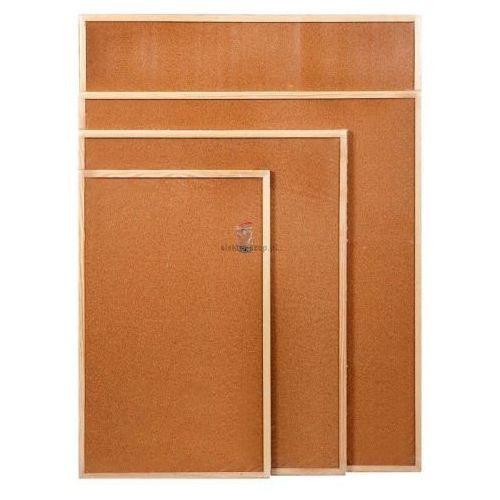 Tablice szkolne, Tablica korkowa na notatki, 50x80 cm, EMAKO