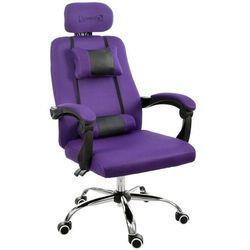 Fotel biurowy GIOSEDIO fioletowy, model GPX010