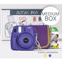 FujiFilm INSTAX MEDIUM BOX 2017 fioletowy