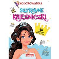 Literatura młodzieżowa, Kolorowanka szykowne księżniczki z naklejkami - ratajszczak katarzyna