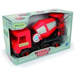 Middle Truck Betoniarka czerwona w kartonie