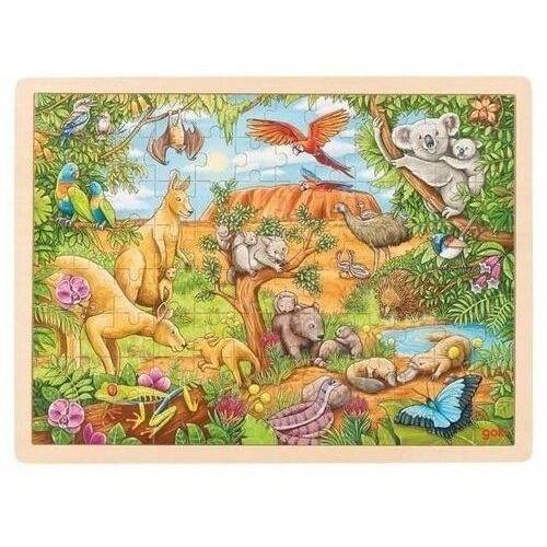Puzzle, Puzzle 96el. Australijskie zwierzęta