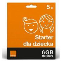Karty pre-paid, Bezpieczny Starter dla Twojego dziecka 5 PLN Starter ORANGE