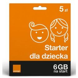 Starter ORANGE Bezpieczny Starter dla Twojego dziecka 5 PLN