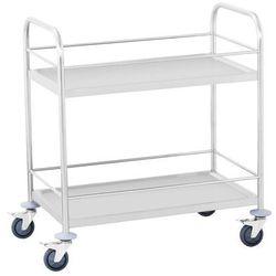 Wózek kelnerski na napoje - 2 półki - do 100 kg
