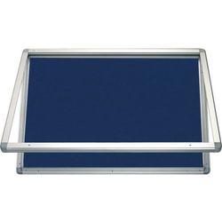 Gablota informacyjna 2x3 model 1 – zewnętrzna wodoszczelna tekstylna 9xA4(75x101cm) - pionowa