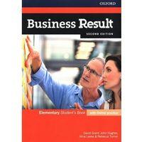 Książki do nauki języka, Business Result 2E Elementary SB + online practice - Praca zbiorowa (opr. broszurowa)