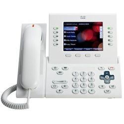 CP-8961-WL-K9 telefon Cisco UC Phone 8961, White, Slimline handset