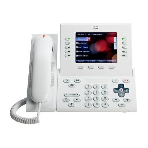 Telefony i akcesoria VoIP, CP-8961-WL-K9 telefon Cisco UC Phone 8961, White, Slimline handset