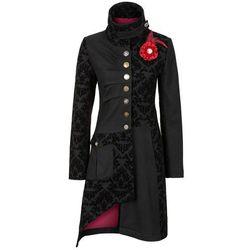 Krótki płaszcz bonprix czarny