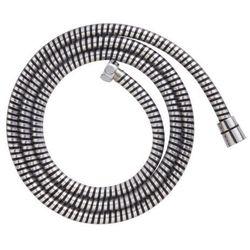 Wąż prysznicowy PCV 1,75 m czarny/chrom