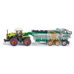 Siku 1827 traktor class xerion z cysterną