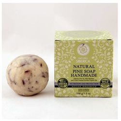 Natural Pine Soap Hanmade naturalne ręcznie robione mydło sosnowe 100g