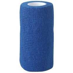 Samoprzylepne bandaże elastyczne EquiLastic szer. 10 cm Kerbl - niebieski