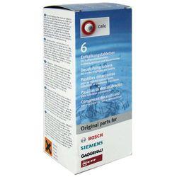 Tabletki odkamieniające Bosch/Siemens 310967 - 6 sztuk