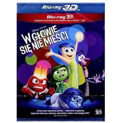 W głowie się nie mieści 3D (Blu-Ray) - Pete Docter, Ronaldo Del Carmen