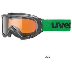 Gogle narciarskie Uvex wizzard DL [Zobacz ZDJĘCIA 360°] - czarny uvex (-25%)