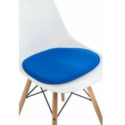 Poduszka na krzesło Side Chair niebieska - D2 Design - Zapytaj o rabat!
