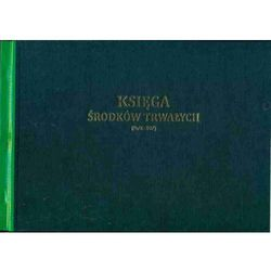 Księga środków trwałych A4, oprawa twarda [Pu/K-207]