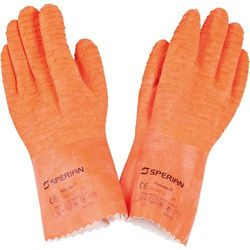 Rękawice ochronne lateksowe o długości 300 mm | STALGAST, 505021