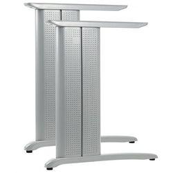 Stelaż metalowy biurka CD-A - kolor aluminium